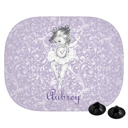 Ballerina Car Side Window Sun Shade (Personalized)