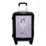 Ballerina Carry On Hard Shell Suitcase (Personalized)