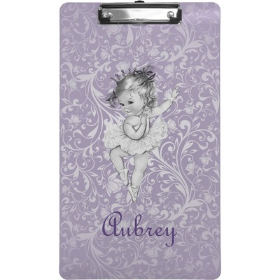 Ballerina Clipboard (Legal Size) (Personalized)