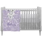 Ballerina Crib Comforter / Quilt (Personalized)