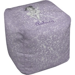 Ballerina Cube Pouf Ottoman (Personalized)