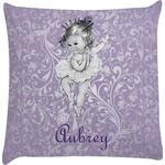 Ballerina Decorative Pillow Case (Personalized)