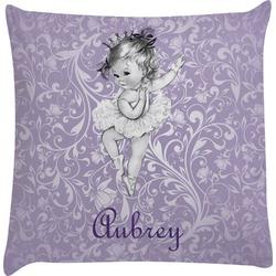 Ballerina Decorative Pillow Case (Personalized)