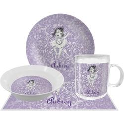 Ballerina Dinner Set - 4 Pc (Personalized)