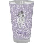 Ballerina Drinking / Pint Glass (Personalized)