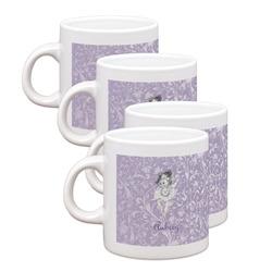 Ballerina Espresso Mugs - Set of 4 (Personalized)