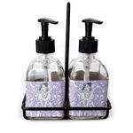 Ballerina Soap & Lotion Dispenser Set (Glass) (Personalized)