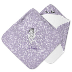 Ballerina Hooded Baby Towel (Personalized)
