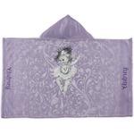 Ballerina Kids Hooded Towel (Personalized)