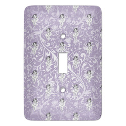 Ballerina Light Switch Cover (Single Toggle) (Personalized)