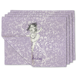 Ballerina Linen Placemat w/ Name or Text