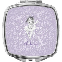 Ballerina Compact Makeup Mirror (Personalized)