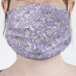 Ballerina Face Mask Cover (Personalized)