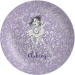 Ballerina Melamine Plate (Personalized)