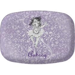 Ballerina Melamine Platter (Personalized)