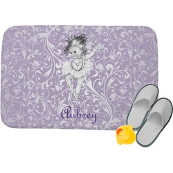 Ballerina Memory Foam Bath Mat (Personalized)