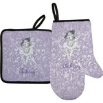 Ballerina Oven Mitt & Pot Holder (Personalized)