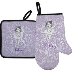 Ballerina Oven Mitt & Pot Holder (Personalized)