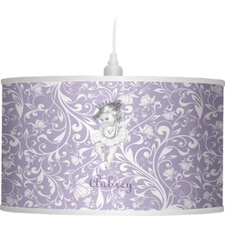 Ballerina Drum Pendant Lamp Linen (Personalized)