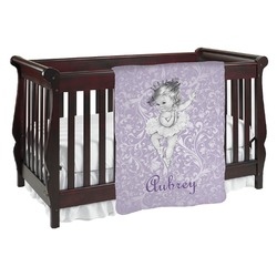 Ballerina Baby Blanket (Personalized)