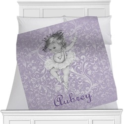 Ballerina Minky Blanket (Personalized)