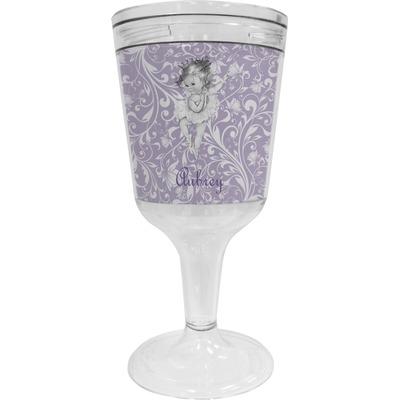 Ballerina Wine Tumbler - 11 oz Plastic (Personalized)