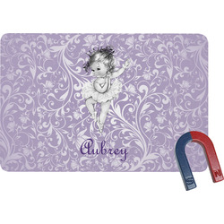 Ballerina Rectangular Fridge Magnet (Personalized)