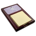 Ballerina Red Mahogany Sticky Note Holder (Personalized)