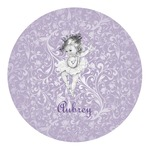 Ballerina Round Decal (Personalized)