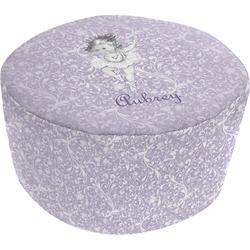 Ballerina Round Pouf Ottoman (Personalized)