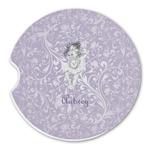 Ballerina Sandstone Car Coasters (Personalized)