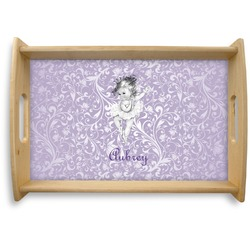Ballerina Natural Wooden Tray (Personalized)