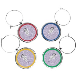 Ballerina Wine Charms (Set of 4) (Personalized)