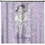 Ballerina Shower Curtain (Personalized)