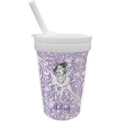 Ballerina Sippy Cup with Straw (Personalized)