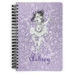 Ballerina Spiral Bound Notebook (Personalized)