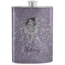 Ballerina Stainless Steel Flask (Personalized)