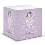 Ballerina Sticky Note Cube (Personalized)