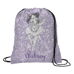Ballerina Drawstring Backpack (Personalized)