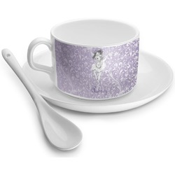 Ballerina Tea Cup - Single (Personalized)