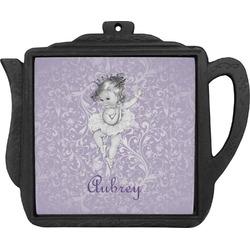 Ballerina Teapot Trivet (Personalized)