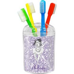 Ballerina Toothbrush Holder (Personalized)