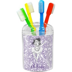 Ballerina Toothbrush Holder (Personalized)