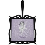 Ballerina Trivet with Handle (Personalized)