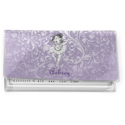 Ballerina Vinyl Checkbook Cover (Personalized)