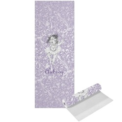 Ballerina Yoga Mat - Printed Front (Personalized)