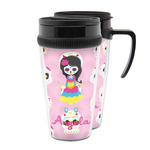 Kids Sugar Skulls Acrylic Travel Mugs (Personalized)