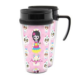 Kids Sugar Skulls Acrylic Travel Mugs (Personalized)