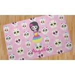 Kids Sugar Skulls Area Rug (Personalized)