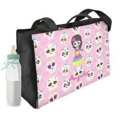 Kids Sugar Skulls Diaper Bag (Personalized)